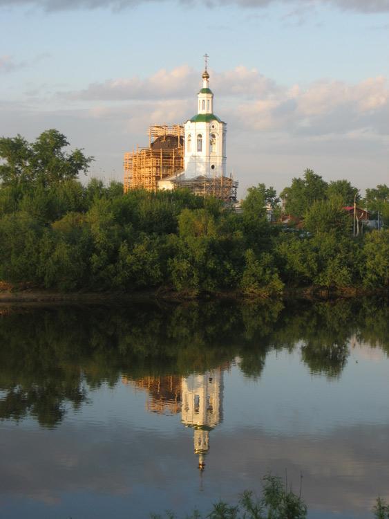 Церковь Вознесения Господня и Георгия Победоносца, Тюмень