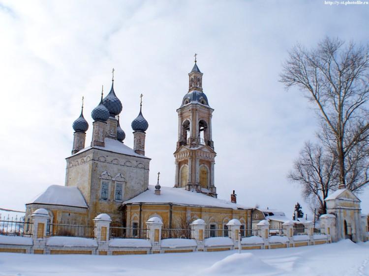 Церковь Николая Чудотворца, Саметь