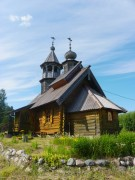 Церковь Василия Великого - Акулова Гора - Лодейнопольский район - Ленинградская область