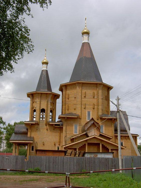 Церковь Серафима Саровского-Лотошино-Лотошинский район-Московская область