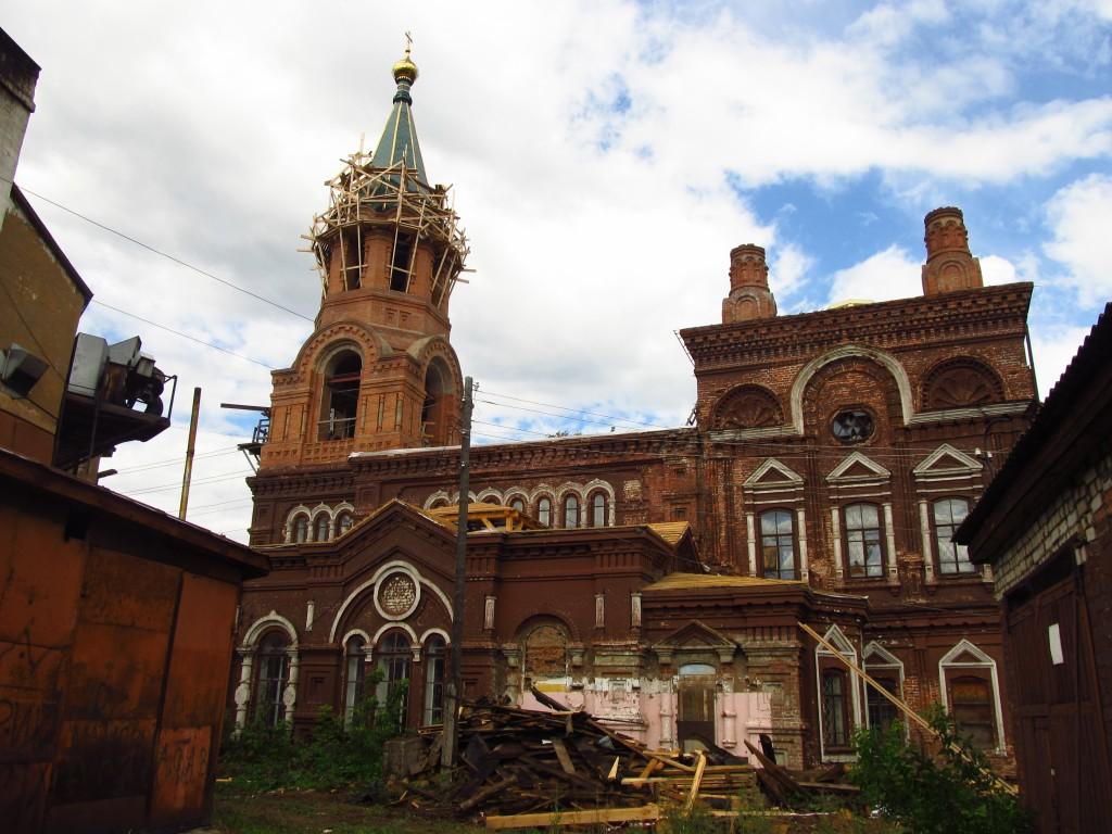 Церковь Николая Чудотворца, Слободской