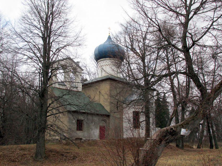 Церковь Олега Брянского-Осташево-Волоколамский район-Московская область