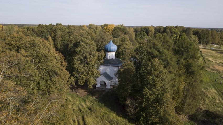 Церковь Олега Брянского, Осташёво