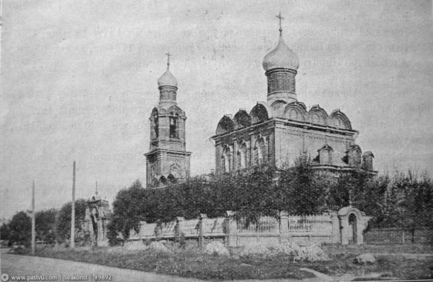 Церковь Спаса Преображения в Тушине, Москва