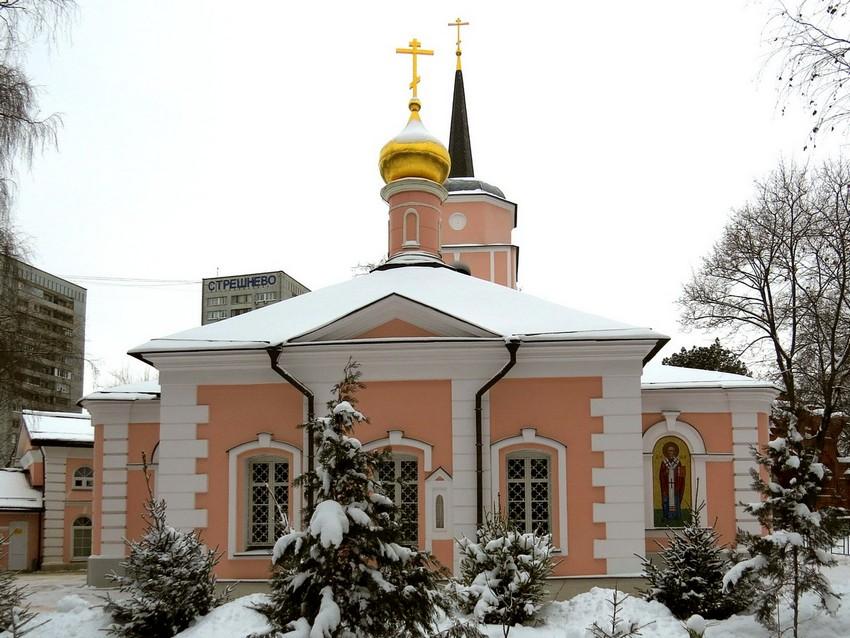 Церковь Покрова Пресвятой Богородицы в Покровском-Стрешневе, Москва