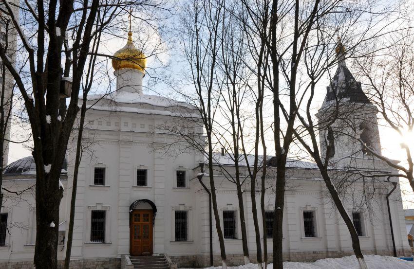 Церковь Благовещения Богородицы в селе Федосьине (Солнцеве), Москва