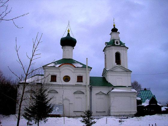 Церковь Димитрия Ростовского в Очакове, Москва