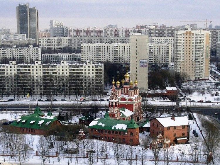 Церковь Михаила Архангела в Тропарёве, Москва