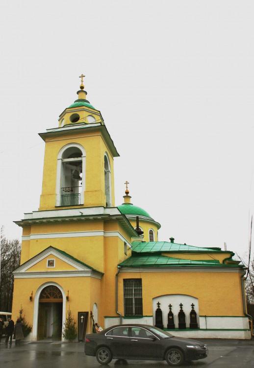 Церковь Сошествия Святого Духа на Даниловском кладбище, Москва