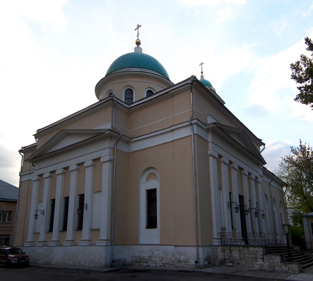 Церковь Воскресения Словущего в Даниловской слободе, Москва