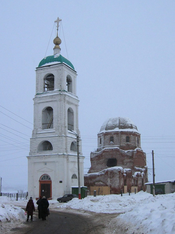 Церковь Троицы Живоначальной, Карачарово