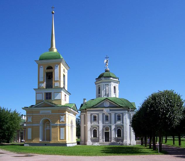 Церковь Спаса Всемилостивого в Кускове, Москва