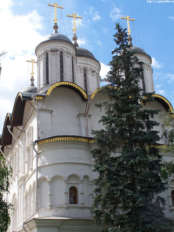 Кремль. Церковь Двенадцати апостолов в Патриаршем доме, Москва