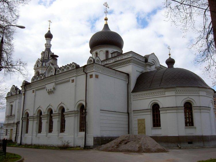 Церковь Успения Пресвятой Богородицы в Троице-Лыкове, Москва