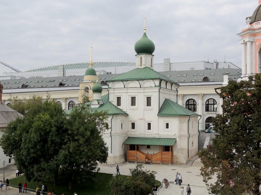 Церковь Максима Исповедника (Максима Блаженного) на Варварке, Москва