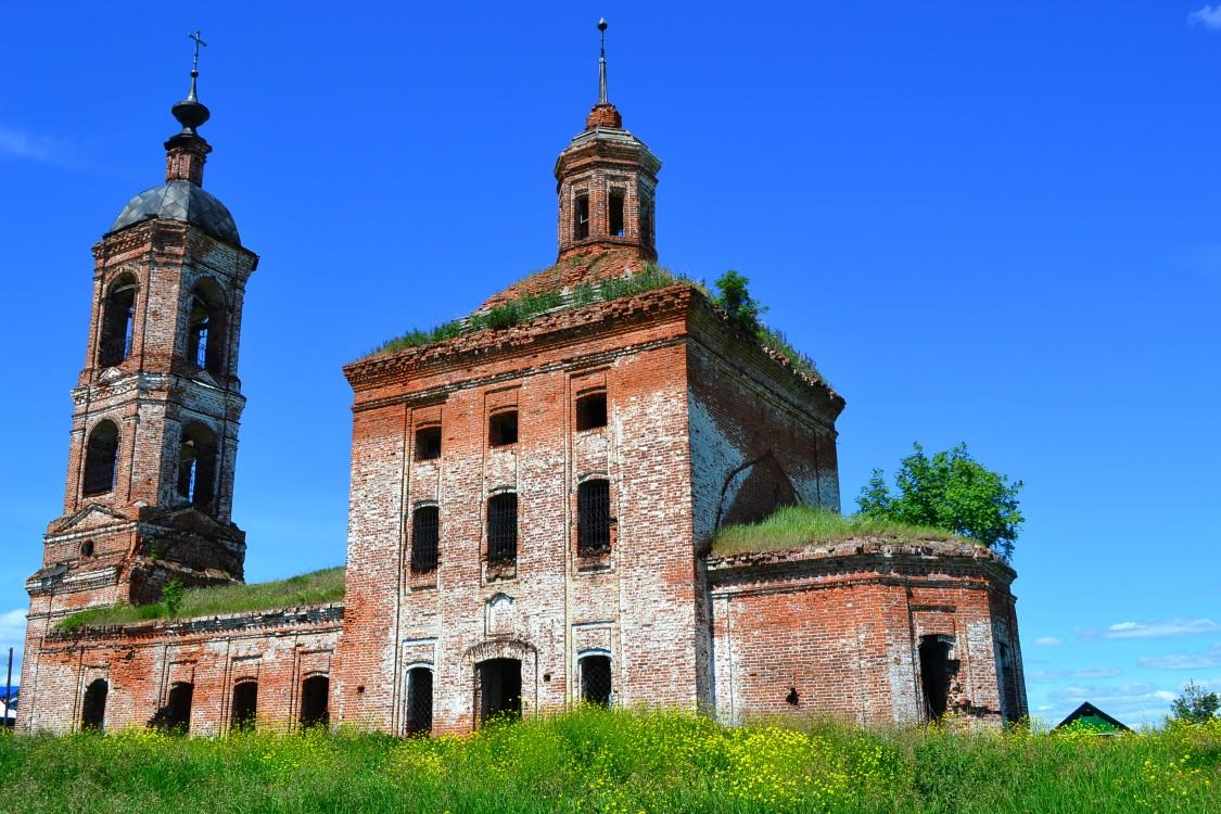 Церковь Иоанна Богослова, Ильинское