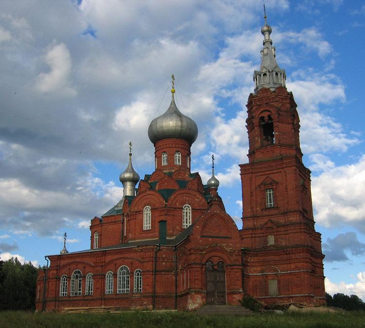 Церковь Рождества Иоанна Предтечи (зимняя), Ширково