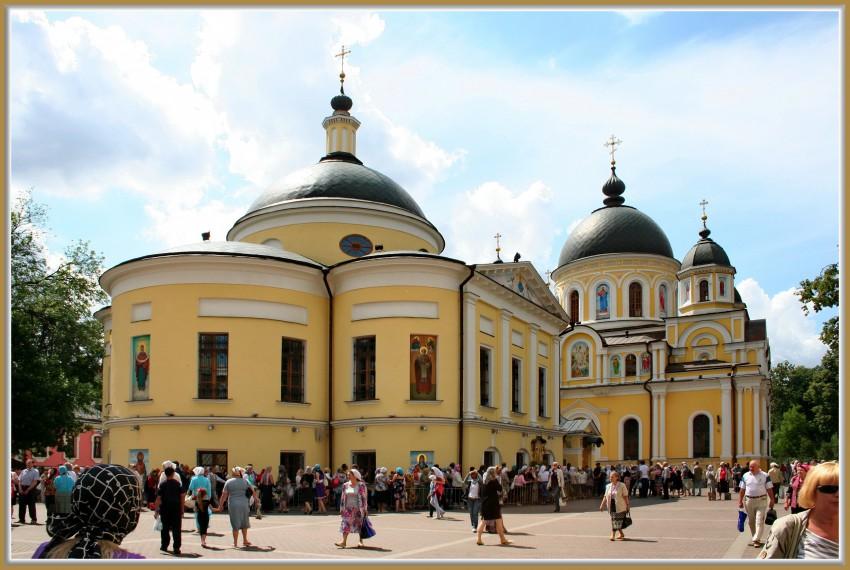 женский монастырь матроны московской живопись