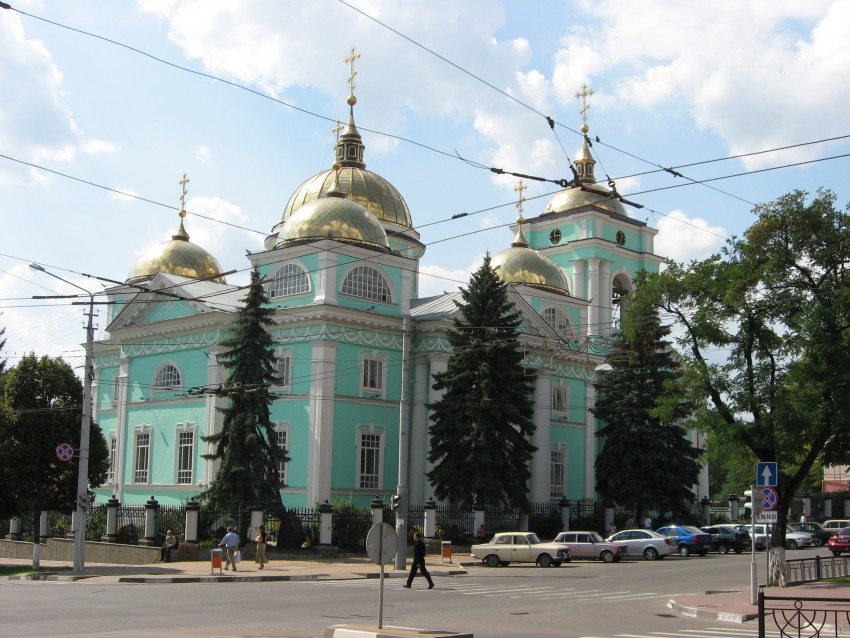 Кафедральный собор Спаса Преображения-Белгород-г. Белгород-Белгородская область