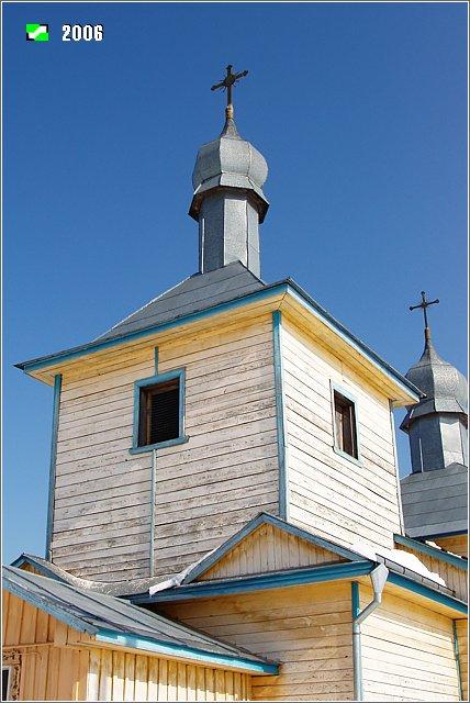 Церковь Всех святых земли Владимирской, Колпь