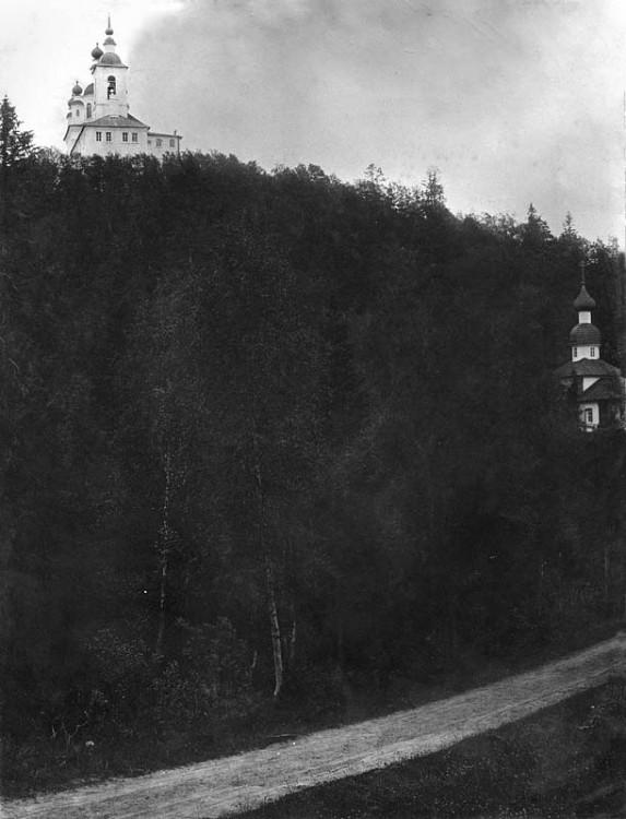 Соловецкий Спасо-Преображенский ставропигиальный монастырь. Голгофо-Распятский скит, Анзерский, остров
