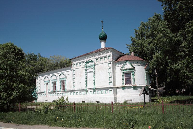Всехсвятская пустынь с церковью Всех Святых Переславль-Залесский фотографии