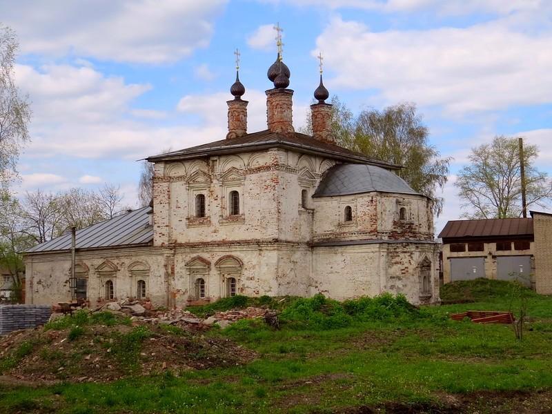 Церковь Николая Чудотворца-Галич-Галичский район-Костромская область