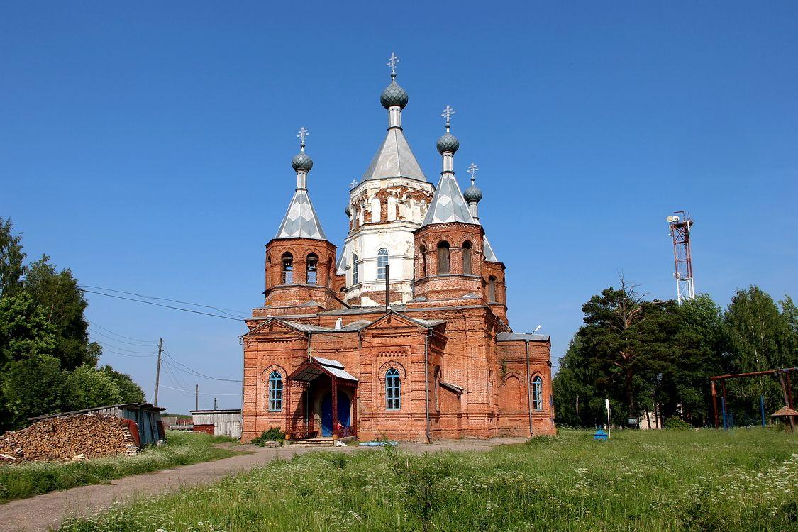 Церковь Николая Чудотворца, Большое Широкое