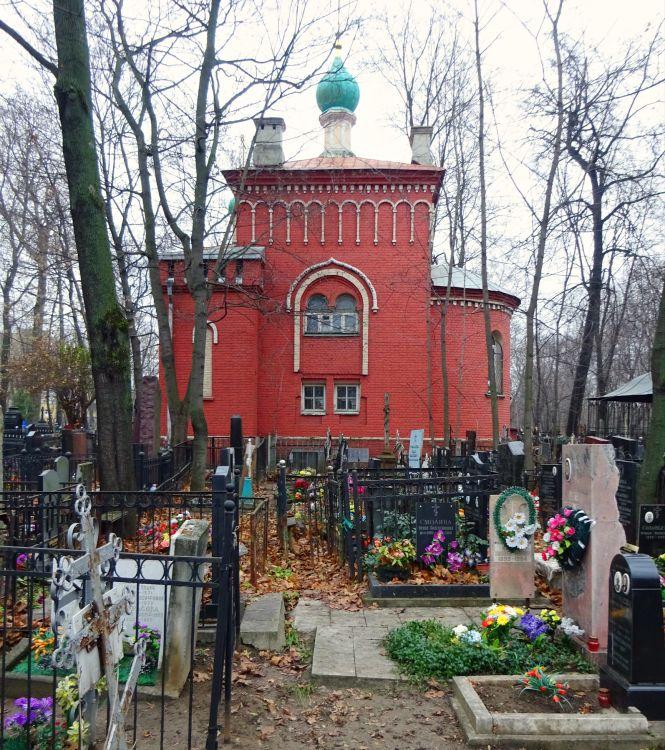 Часовня Симеона, епископа Персидского, на Пятницком кладбище, Москва