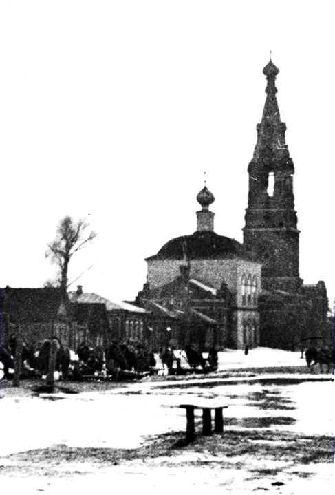 Церковь Воскресения Христова и Михаила Архангела, Касимов