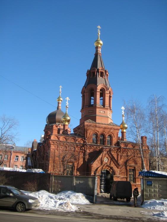 Церковь Благовещения Пресвятой Богородицы в Сокольниках-Москва-Восточный административный округ (ВАО)-г. Москва