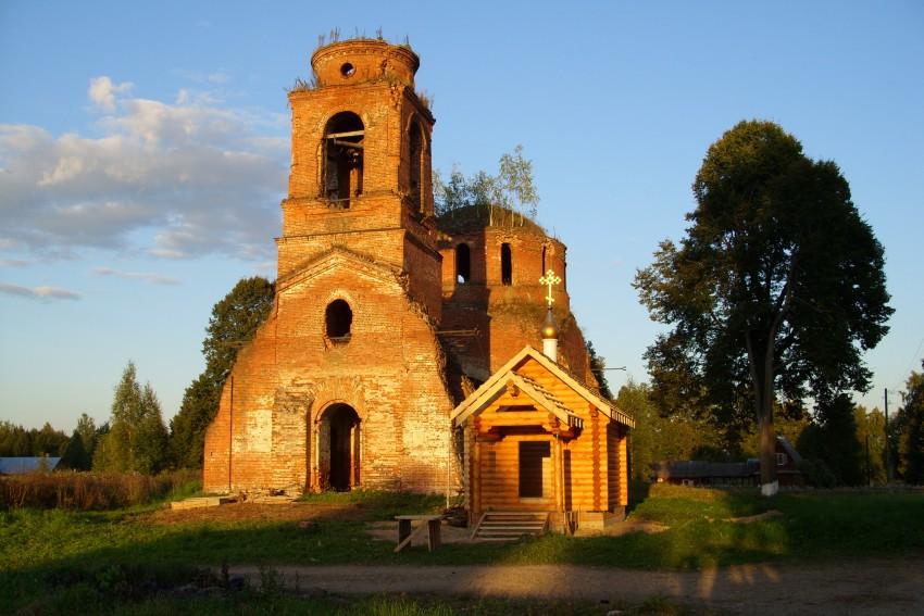 Церковь Николая Чудотворца-Милятино-Барятинский район-Калужская область