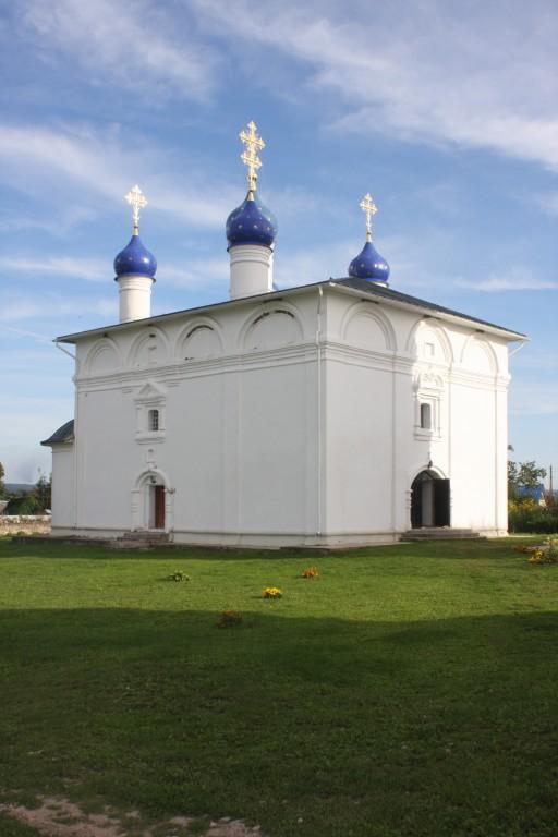 Лихвинский Успенский Гремячев монастырь. Собор Успения Пресвятой Богородицы, Гремячево