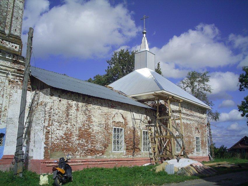 Церковь Воскресения Христова, Болотново