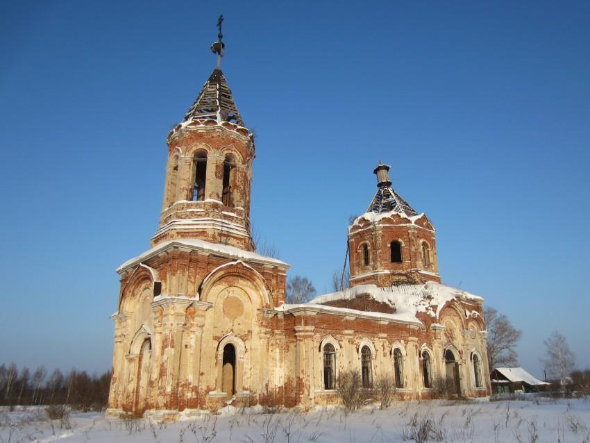 Церковь Троицы Живоначальной-Заборовье-Калининский район-Тверская область