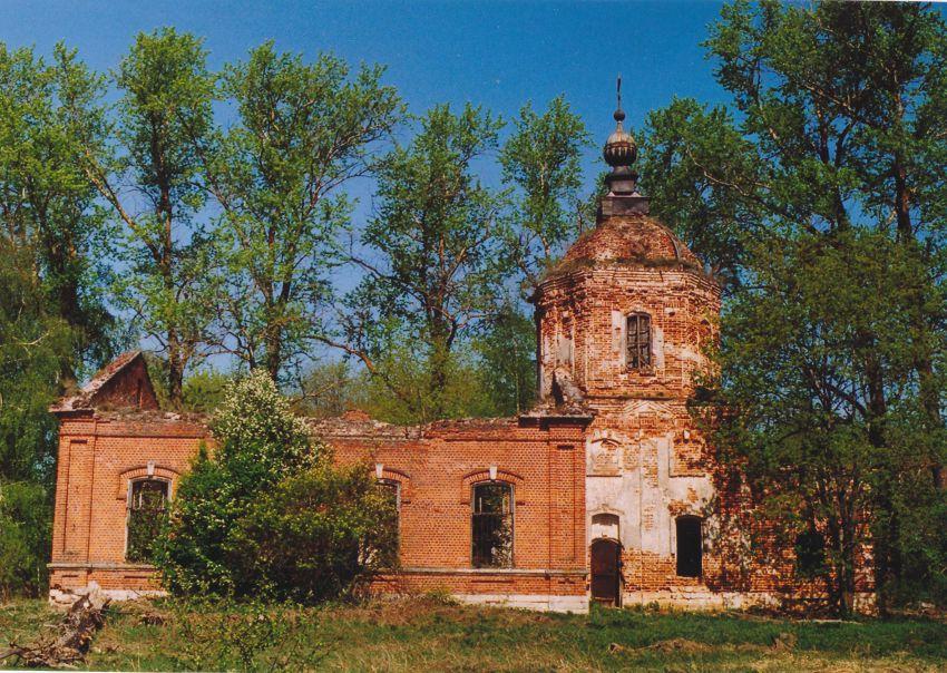 Церковь Воскресения Словущего, Карамышево