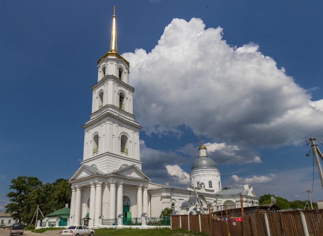 Церковь Троицы Живоначальной-Тума-Клепиковский район-Рязанская область