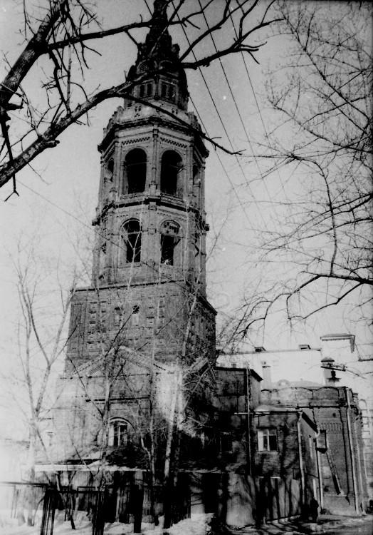Церковь Смоленской иконы Божией Матери, Москва