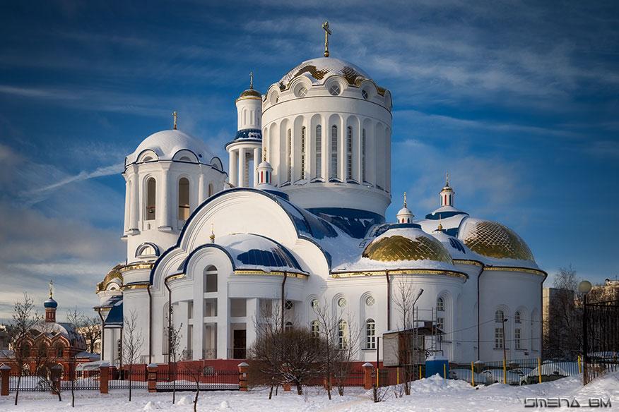Церковь Собора Московских Святых в Бибиреве, Москва