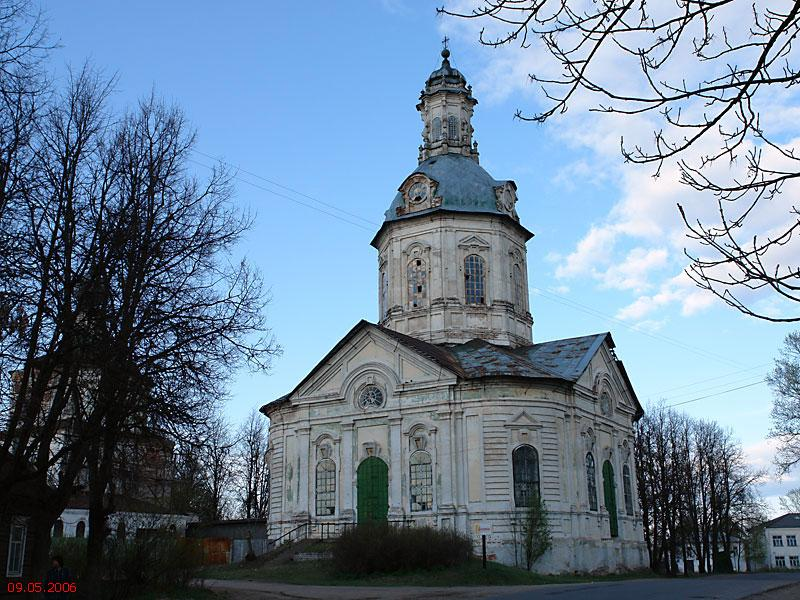 Тихоновский женский монастырь. Церковь Покрова Пресвятой Богородицы, Торопец