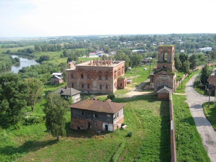 Крестовоздвиженский монастырь в г. Белёв