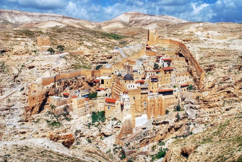 Саввы Освященного, Лавра-Иудейская пустыня, Вади Кедрон-Палестина-Прочие страны