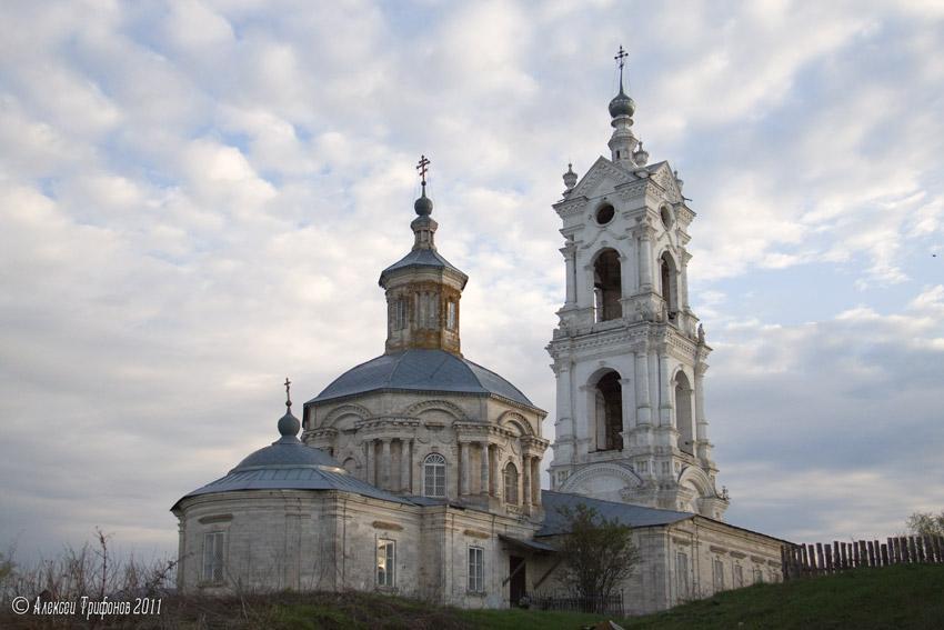 Церковь Спаса Преображения-Погост-Касимовский район-Рязанская область