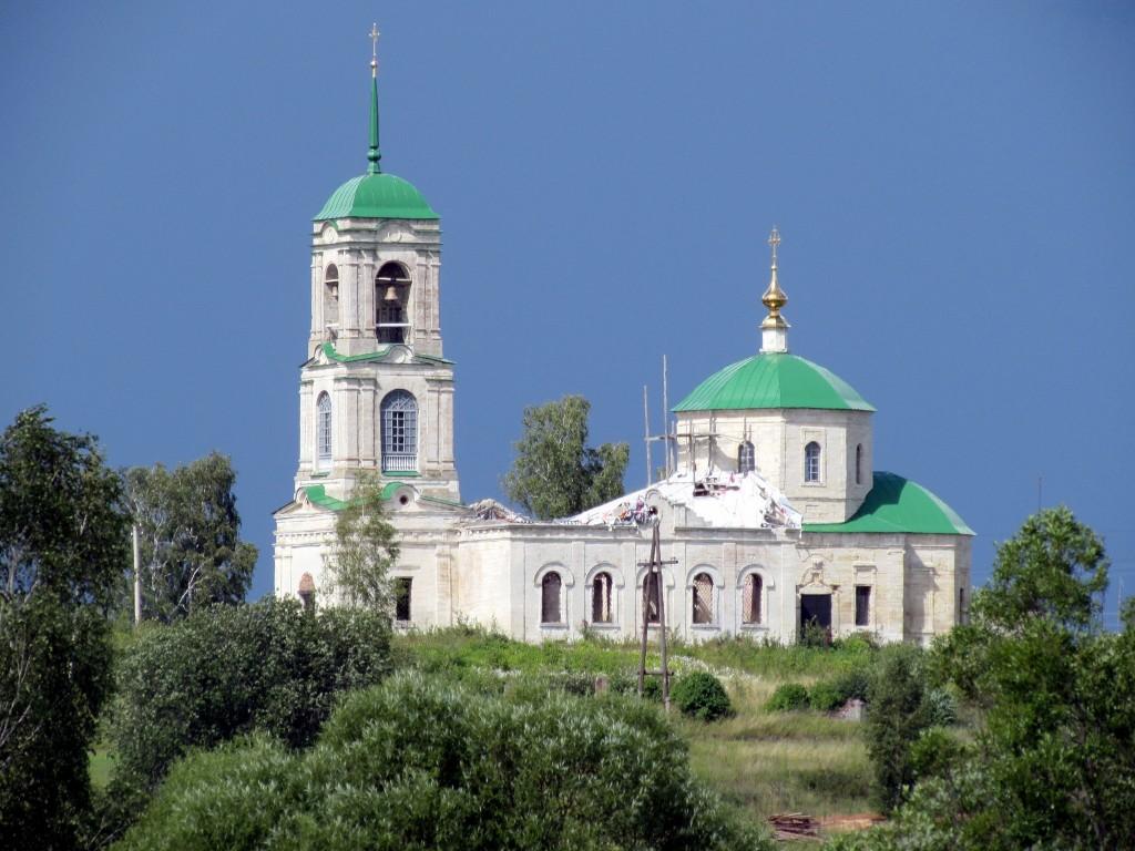 Церковь Василия Великого, Васильевское