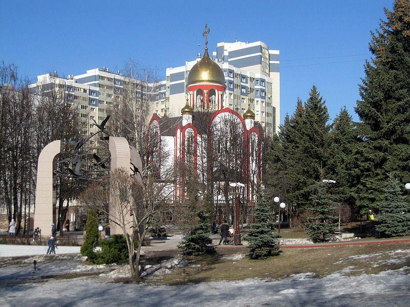 Церковь Георгия Победоносца-Видное-Ленинский район-Московская область