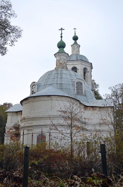 Церковь Рождества Христова, Шахтёр, д.о. (Рождествено-Телятьево)