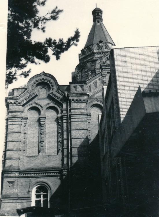 Александро-Мариинский монастырь. Церковь Вознесения Господня (Воздвижения Креста Господня?), Евлево