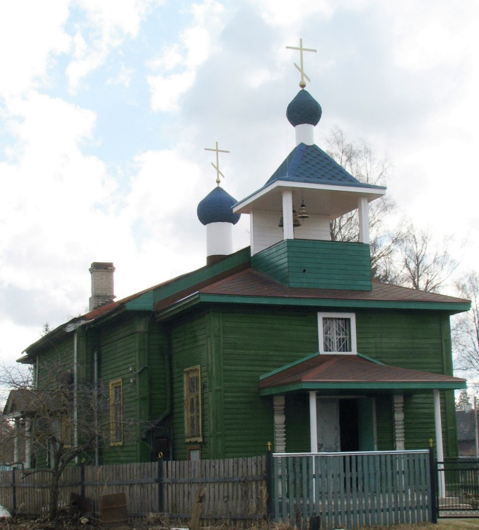 Церковь Николая Чудотворца, Кикерино