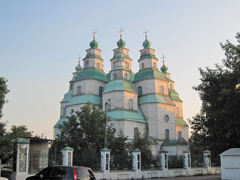 Собор Троицы Живоначальной, Новомосковск