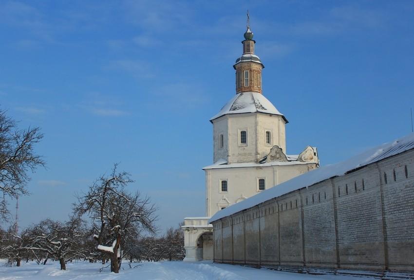 Свенский Успенский монастырь. Церковь Спаса Преображения, Супонево